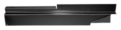 73-'87 CHEVROLET PICKUP ROCKER BACKING PLATE, DRIVER'S SIDE