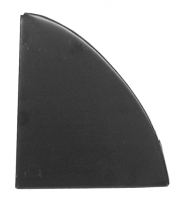 67-'72 SUBURBAN REAR BACKING PLATE, DRIVER'S SIDE