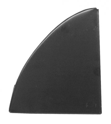 67-'72 SUBURBAN REAR BACKING PLATE, PASSENGER'S SIDE