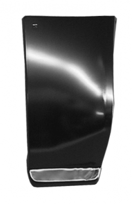 73-'91 SUBURBAN LOWER FRONT QUARTER PANEL SECTION, DRIVER'S SIDE
