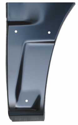 02-'06 AVALANCE FRONT LOWER QUARTER PANEL SECTION, DRIVER'S SIDE (W/CLADDING)