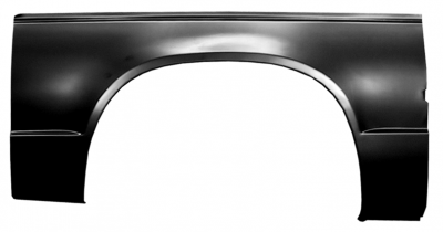 82-'93 S-10 COMPLETE WHEEL ARCH, PASSENGER'S SIDE