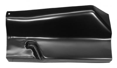 81-'87 DODGE PICKUP CAB FLOOR OUTER REAR SECTION, PASSENGER'S SIDE