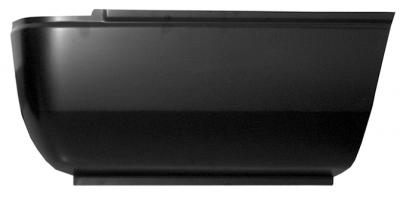 94-'01 DODGE RAM REAR LOWER BED SECTION, PASSENGER'S SIDE