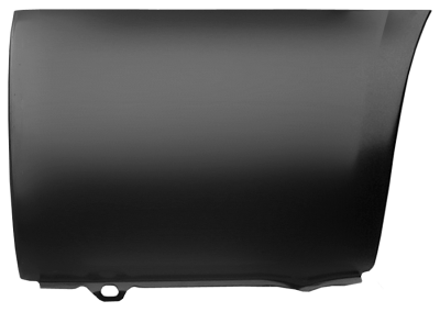 99-'15 FORD SUPERDUTY LOWER FRONT BED SECTION, DRIVER'S SIDE
