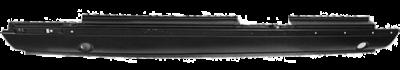 72-'80 MERCEDES W116 ROCKER PANEL 4 DOOR EXCLUDES SEL MODEL, DRIVER'S SIDE