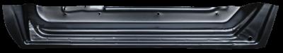 76-'85 MERCEDES 200-300 123 REAR INNER DOOR BOTTOM, DRIVER'S SIDE