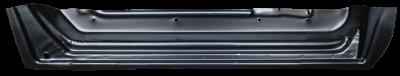 76-'85 MERCEDES 200-300 123 REAR INNER DOOR BOTTOM, PASSENGER'S SIDE