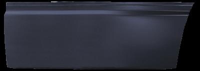 85-'98 SAAB 9000 REAR LOWER DOOR SKIN, DRIVER'S SIDE