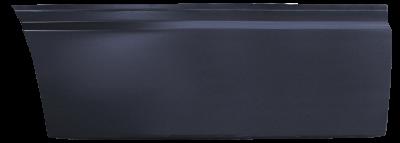 85-'98 SAAB 9000 REAR LOWER DOOR SKIN, PASSENGER'S SIDE