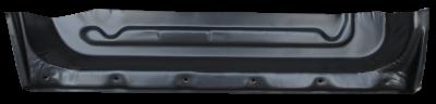 85-'98 SAAB 9000 REAR INNER DOOR BOTTOM, PASSENGER'S SIDE