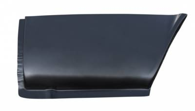73-'79 VW BUS FRONT LOWER REAR WHEEL ARCH SECTION, DRIVER'S SIDE