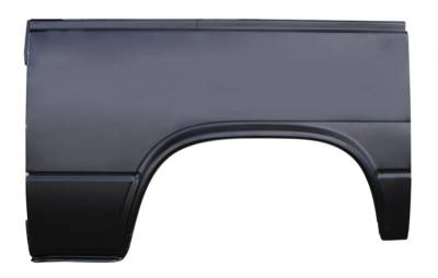 80-'90 VW BUS REAR WHEEL ARCH, LARGE, DRIVER'S SIDE