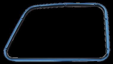 '47-'50 CHEVROLET/GMC PICKUP INNER WINDOW FRAME, PTM, PASSENGER'S SIDE