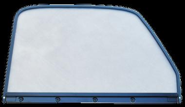 '47-'50 CHEVROLET/GMC PICKUP WINDOW GLASS (CLEAR), W/BLACK TRIM, PASSENGER'S SIDE