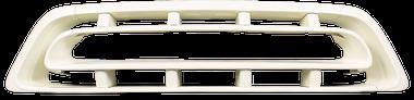 '57 CHEVROLET PICKUP AND SUBURBAN GRILLE, MILK WHITE