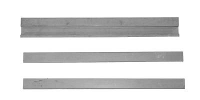 YJ Wrangler - 1987-1995 - Jeep CJ-5 68-83 CJ-7 76-86 YJ Wrangler 87-96 Rear Floor Supports 3 piece set