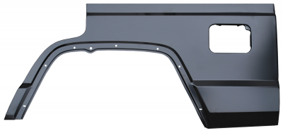 XJ Wagoneer - 1983-1990 - 84-'01 JEEP CHEROKEE 4 DOOR REAR QUARTER PANEL SECTION, DRIVER,S SIDE