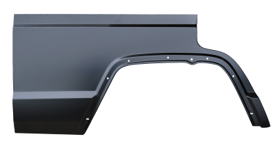 XJ Wagoneer - 1983-1990 - 84-'01 JEEP CHEROKEE 4 DOOR REAR QUARTER PANEL SECTION, PASSENGER,S SIDE