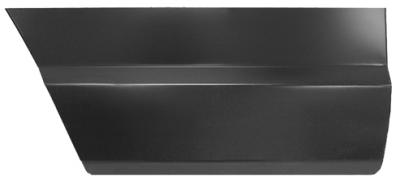 XJ Wagoneer - 1983-1990 - 84-'01 JEEP CHEROKEE LOWER REAR DOORSKIN, PASSENGER'S SIDE