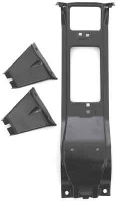 K5 Blazer - 1973-1991 - 73-'74 CHEVROLET PICKUP C/K SERIES CENTER AND OUTER GRILLE BRACKET SET