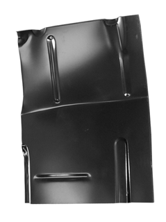 K5 Blazer - 1973-1991 - 73-'87 CHEVROLET PICKUP CAB FLOOR WITH BACKING PLATE, DRIVER'S SIDE