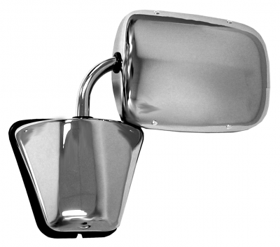 Pickup - 1973-1987 - 73-'87 CHEVROLET PICKUP DOOR MIRROR (STAINLESS STEEL)