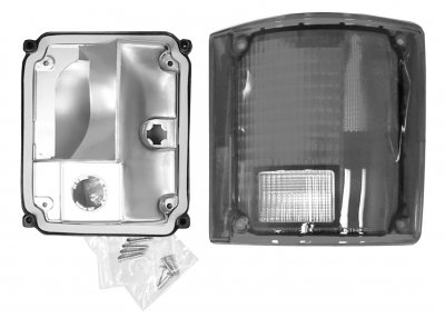 Suburban - 1973-1991 - 73-'91 BLAZER & JIMMY TAIL LIGHT ASSEMBLY WITHOUT TRIM, PASSENGER'S SIDE