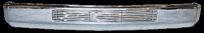 88-'98 CHEVROLET PICKUP CUSTOM FRT BUMPER, CHROME