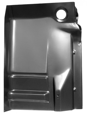 88-'98 CHEVROLET PICKUP COMPLETE CAB FLOOR PAN SECTION (INNER/OUTER WITH BACK PLATE) PASSENGER'S SIDE