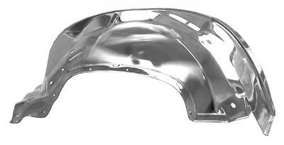 Pickup - 1988-1998 - 88-'92 CHEVROLET PICKUP INNER FRONT FENDER (CHROME) PASSEMGER'S SIDE