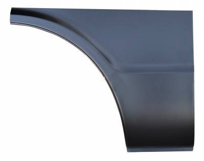 67-'72 CHEVROLET SUBURBAN SUBURBAN FRONT LOWER QUARTER PANEL SECTION, RH