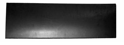 Sierra Pickup - 2007-2013 - Chevrolet Silverado GMC Sierra Crew Cab 07-13 Rear Lower Door Skin 4 Door - Passenger Side