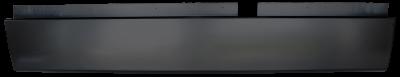 Ram Pickup - 2002-2008 - 02-'08 DODGE RAM REAR ROLL PAN WITHOUT LICENSE BRACKET