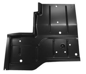 76-'95 JEEP WRANGLER REAR FLOOR PAN, PASSENGER'S SIDE