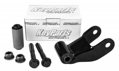 "B-Series Pickup - 1985-1998 - 86-'07 FORD F150 & RANGER/MAZDA 2.5"" REAR SPRING SHACKLE KIT"
