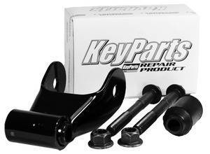 F150 Pickup - 1997-2003 - 97-04 FORD F150 & 04-11 RANGER REAR LEAF SPRING SHACKLE KIT