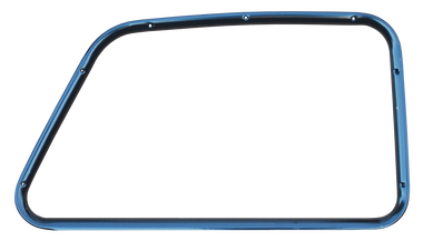 S10 Pickup - 1947-1955 - '47-'50 CHEVROLET/GMC PICKUP INNER WINDOW FRAME, PTM, PASSENGER'S SIDE