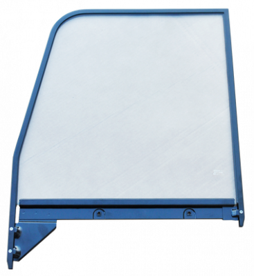 GMC Pickup - 1955-1959 - '55-'59 CHEVROLET/GMC PICKUP DOOR WINDOW GLASS (CLEAR), W/PAINTED TRIM, DRIVER'S SIDE