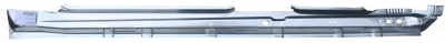 X-Type - 2001-2009 - 01-'09 JAGUAR X-TYPE ROCKER PANEL, DRIVER'S SIDE