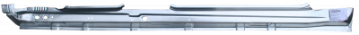 X-Type - 2001-2009 - 01-'09 JAGUAR X-TYPE ROCKER PANEL, PASSENGER'S SIDE