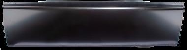 02-'08 DODGE RAM 2 DR STANDARD CAB LOWER DOOR SKIN, PASSENGER'S SIDE