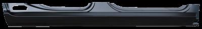 """Ram Pickup - 2009-2018 - 09-'18 DODGE RAM CREW CAB ROCKER PANEL (41.5"""" REAR DOOR), PASSENGER'S SIDE"""