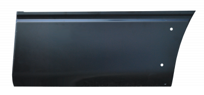 F150 Pickup - 2009-2014 - 04-'14 FORD F150 (6.5' BED) FRONT LOWER QUARTER PANEL SECTION WITH MOLDING HOLES, DRIVER'S SIDE