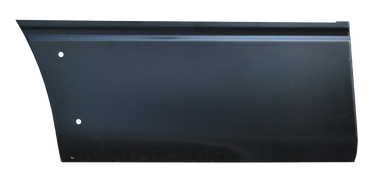 F150 Pickup - 2009-2014 - 04-'14 FORD F150 (6.5' BED) FRONT LOWER QUARTER PANEL SECTION WITH MOLDING HOLES, PASSENGER'S SIDE