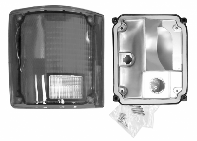 Nor/AM Auto Body Parts - 73-'91 BLAZER & JIMMY TAIL LIGHT ASSEMBLY WITHOUT TRIM, DRIVER'S SIDE - Image 2