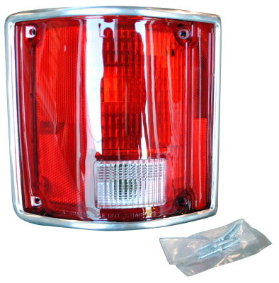 Nor/AM Auto Body Parts - 78-'91 BLAZER & JIMMY TAIL LIGHT ASSEMBLY WITH CHROME TRIM, DRIVER'S SIDE - Image 2