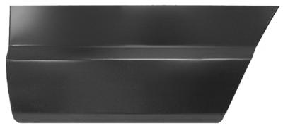 84-'01 JEEP CHEROKEE LOWER REAR DOORSKIN, DRIVER'S SIDE - Image 2
