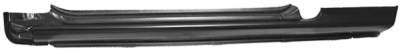 Nor/AM Auto Body Parts - 88-'91 HONDA CIVIC HATCHBACK ROCKER PANEL, DRIVER'S SIDE - Image 2