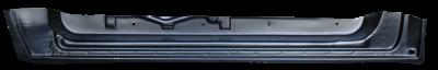 76-'85 MERCEDES 200-300 123 FRONT INNER DOOR BOTTOM, DRIVER'S SIDE - Image 2
